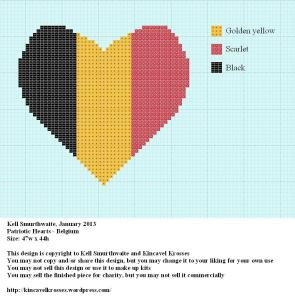 Patriotic Hearts - Belgium