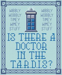 T.A.R.D.I.S Sampler stitchd view
